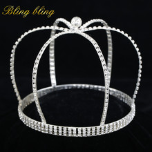 rhinestone man full round crown
