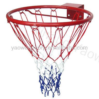 Steel Basketball Rim with net