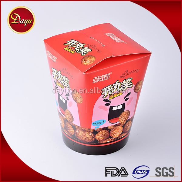 Cheap small biscuit cookie packaging paper noodle box