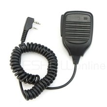 Shoulder Speaker Microphone for TK series Radio Walkie Talkie