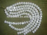 seashell beads and trochid shell necklace