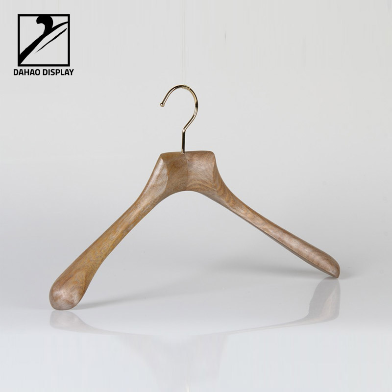Custom Jackets hanger luxury wooden hanger for garments display