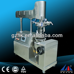 tilting vacuum homogenizing emulsifier,grease homogenizer emulsifier