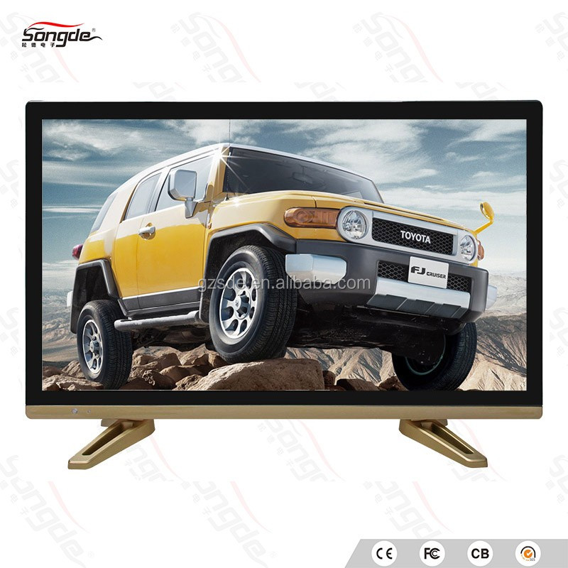 cheap china led tv 21 inch no brand led backlight tv with USB