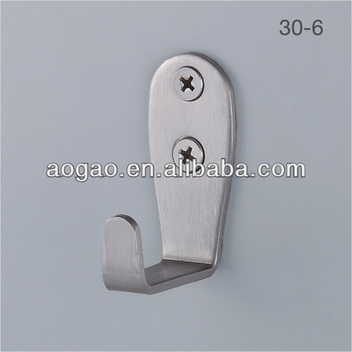 toilet partition wall mounted cothes hanger