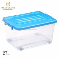 Multi-function stackable widely use pvc storage boxes