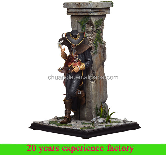 custom wholesale twisted fate league of legends pvc figure lol figure