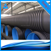 24 inch drain pipe made by PE