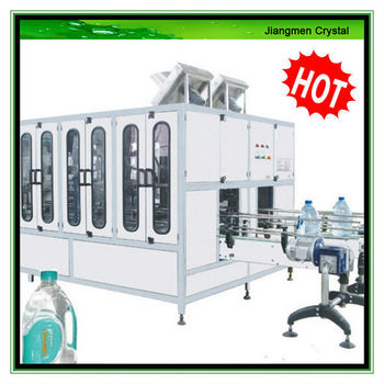 800-1000BPH 5L-10L automatic ransing filling capping 3 in 1 unit water filling machines for sale