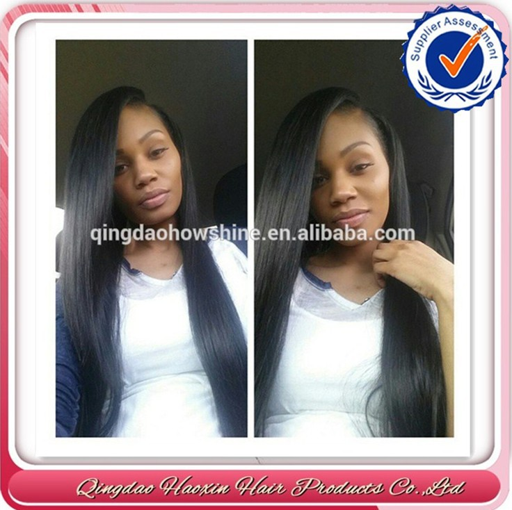 Shipping Fast Cheap Discount Silky Straight Very Long Hair 100 Brazilian Virgin Hair 130% Density Full Lace Wig