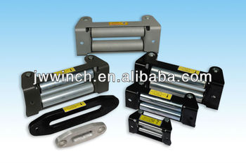 The winch accessories of roller fairlead