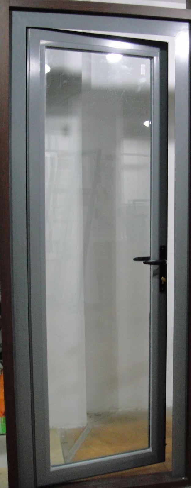 lowes exterior de metal de doble puerta del alumium-Puertas ...