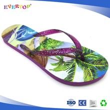 EVERTOP best selling Factory hard plastic flip flops Cheap beact closed toe Slipper slip resistant flip flops