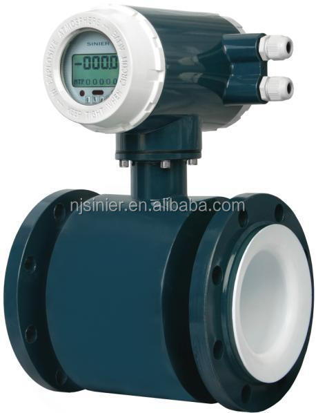 Hot selling digital electromagnetic waste water flow meter