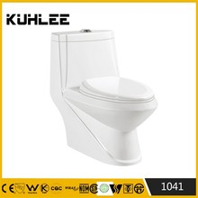 KL-1041 Diamond fashional design one piece ceramic toilet bowl