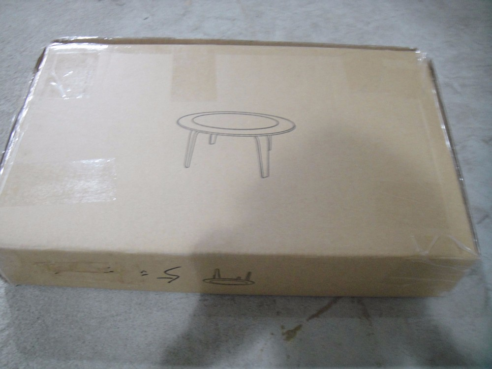 Wholesale leisure coffee table plywood end