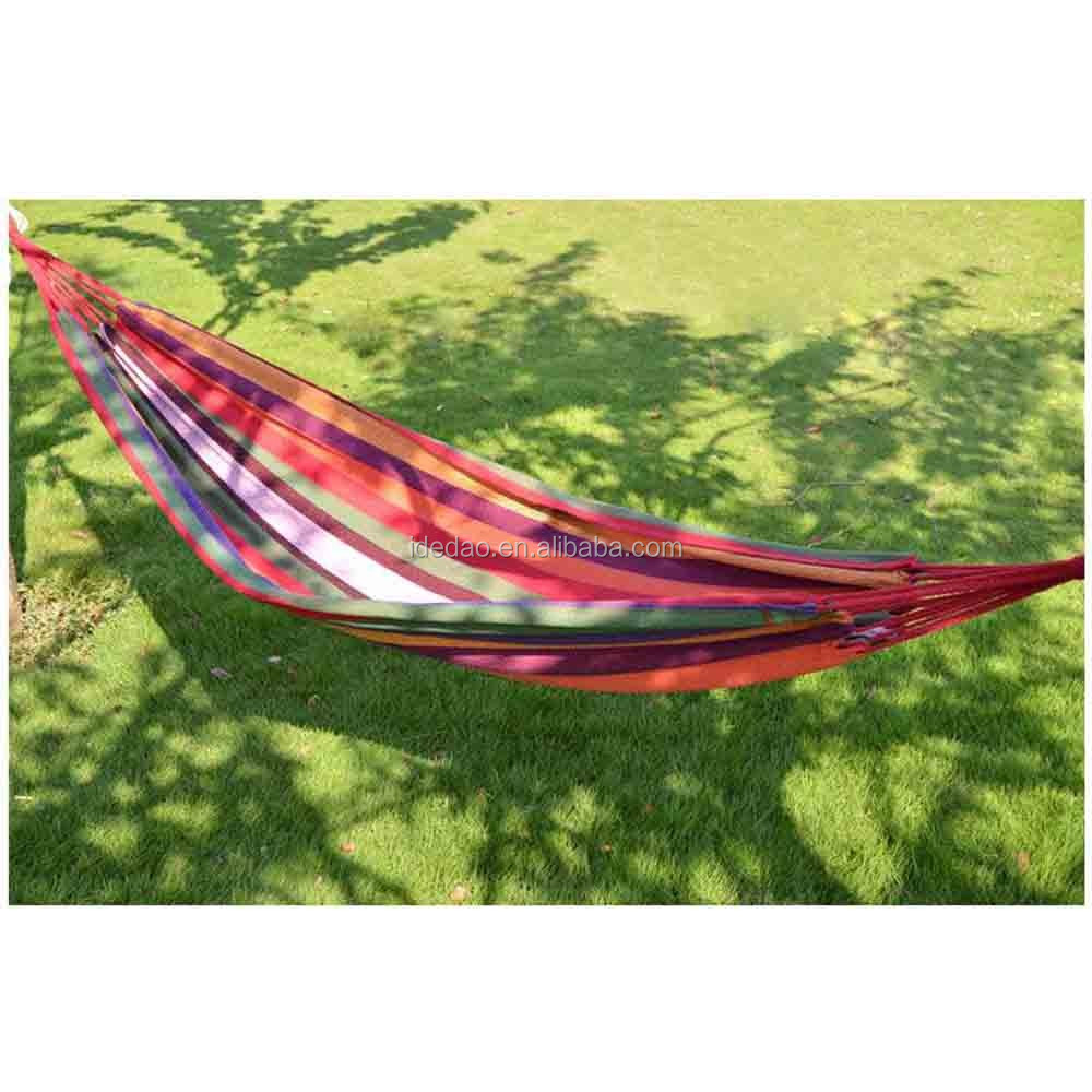 New style canvas wholesale outdoor Camping Backpacking backpacking sleeping Hammock