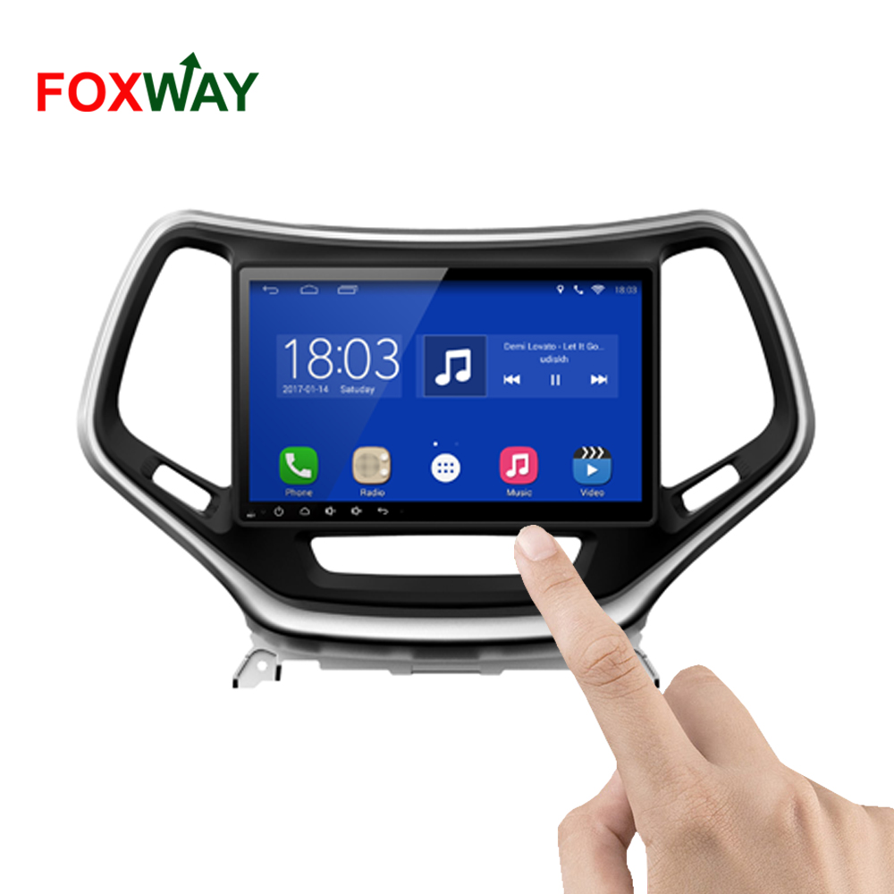 FOXWAY wholesale all in one for jeep grand cherokee car radio