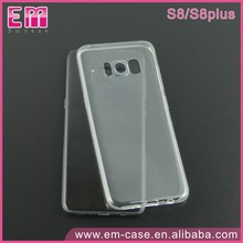 clear tpu case for samsung galaxy s8 transparent soft tpu cover for galaxy s8plus