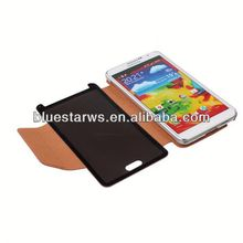 cell phone for samsung galaxy note Factory Wholesales PU Leather Covers for Samsung Note3