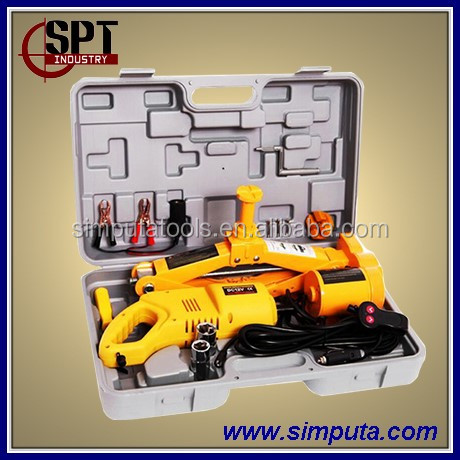 2T Electric Car Jack and wrench kit/automatic repair tools