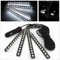 Car SUV Interior Footwell 412 LED White Neon Decorative Atmosphere Light Strips
