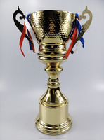 44cm Metal Gold Trophy Cup Prize For Sports