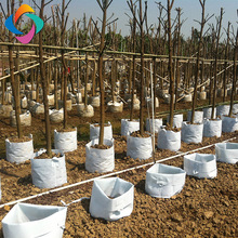 Ecological geotextile planting grow bags for covering crops, trees, flowers, tomatoes, gardens
