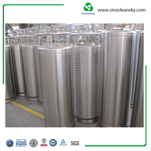 175L LNG Cryogenic Cylinder For Storaging LNG Liquefied Natural Gas
