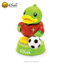B.Duck wholesale mini collectable soccer player action figure