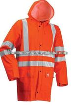 Fire Resistant Reflective Stripes Safety Coat