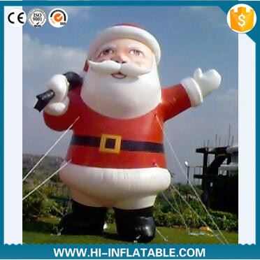 2016 cheap outdoor inflatable christmas old man for decoration