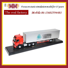 40cm length diecast model truck crane made by diecast mold 5 tons mini truck crane