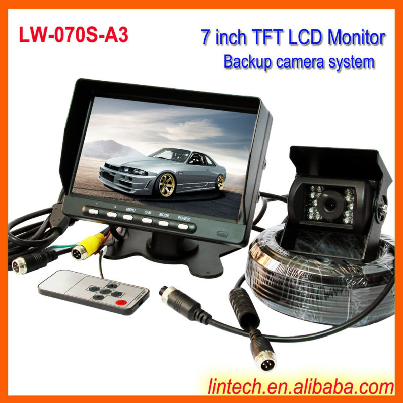 Blind spot assist system with waterproof IR camera (LW-070S-A3)