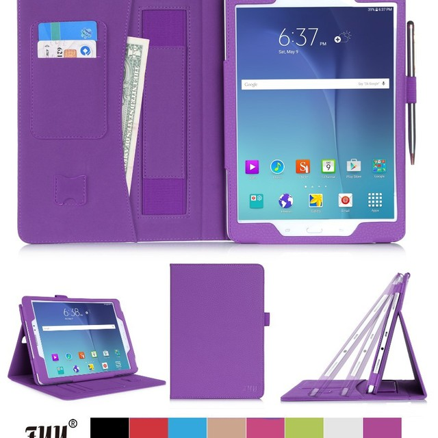 China Manufacturer Fancy Wholesale Foldable Cover Shockproof Flip Tablet Cases For Samsung Tab A T550