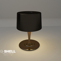 Decoration modern projector contemporary table lamp