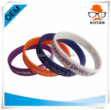 New style best sell 2014 new designs silicone bracelets