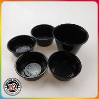 Plastic Mini Tasting Cup Disposable Jam Cup with Different Sizes