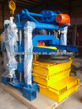 Sell crazy! manual concrete hollow block moulding machine