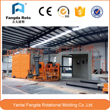 Four arms carousel Rotomolding Machine, rotomolding product making machine, plastic thermoforming machine