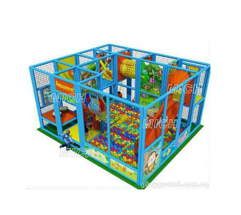 Children Happy Castle Play Park 4.4x4.4x2.5m Indoor Playground Equipment