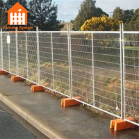 Galvanized metal sheet Australian temporary fence