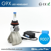 New Design For 2016 Driver And Light Body Seperately Car Led Headlight Bulb 9007