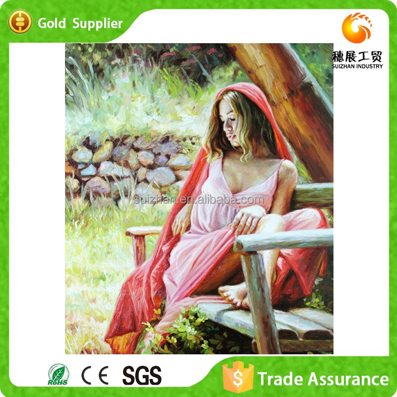 Wholesale Round Diamond Canvas Paintings Diy Paint By Number