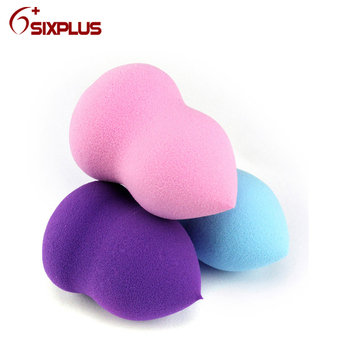 3 Optional Colors Cute Gourd Makeup Sponges (Pink, Purple, Blue-green)