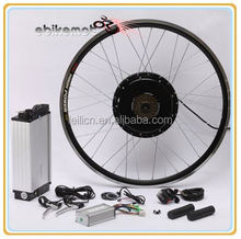 48v 1000w e bike conversion kit with rack type battery