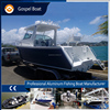 2017 21ft small aluminum boat fishing, deep V aluminum welded cuddy cabin boat for sale