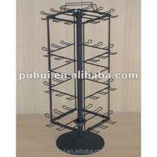universal four sides spinning counter display rack manufacturer from china