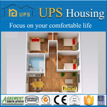 Low cost modular housing/ prefab tiny house with creative design and full decoration ready to occupy