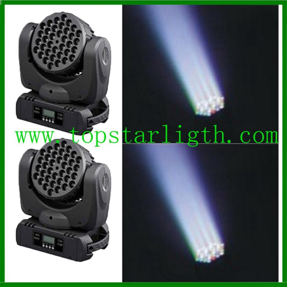 wholesale rgbw dmx zoom wash moving head <strong>led</strong> beam 36*<strong>3w</strong> used moving head lights